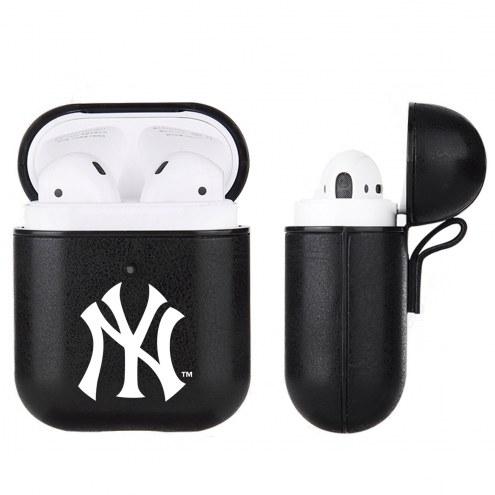 New York Yankees Apple Air Pod Leatherette