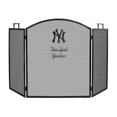 New York Yankees Fireplace Screen