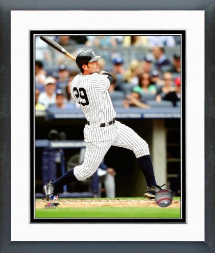 New York Yankees Francisco Cervelli Batting Framed Photo