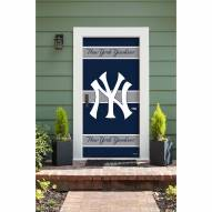 New York Yankees Front Door Cover