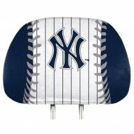 New York Yankees Full Print Headrest Covers