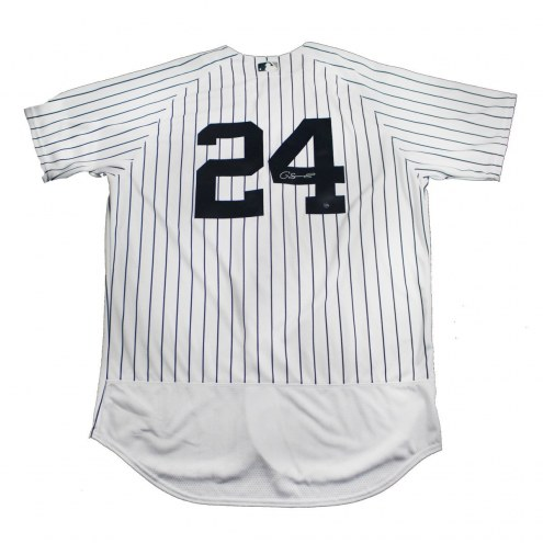 New York Yankees Gary Sanchez Signed Authentic Flex Base Pinstripe Jersey