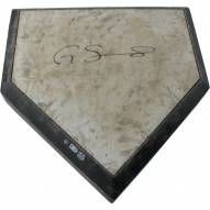 New York Yankees Gary Sanchez Signed Game Used Home Plate