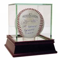 New York Yankees Gary Sanchez Signed Twins at Yankees 10-3-2017 Wild Card Game Used Baseball w/ 1st Career Playoff Game
