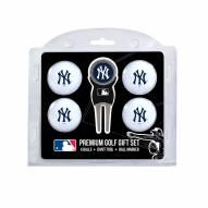 New York Yankees Golf Ball Gift Set