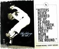 New York Yankees Goose Gossage Signed Pitching/Quote 20 x 24 Canvas w/ HOF 2008