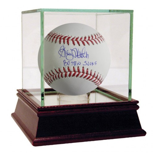 New York Yankees Graig Nettles Signed MLB Baseball w/ Boston Sucks