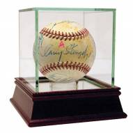 New York Yankees Hall of Famers and Stars Multi Signed Baseball