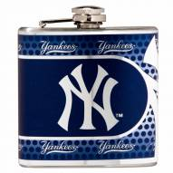 New York Yankees Hi-Def Stainless Steel Flask
