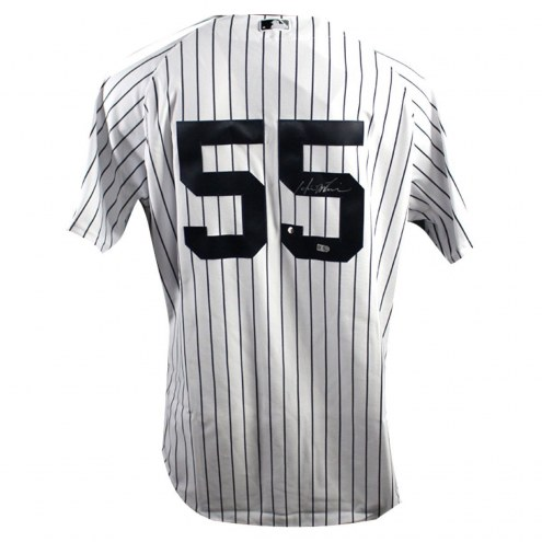 New York Yankees Hideki Matsui Signed Authentic Home Jersey w/ Inaugural Season & 2009 WS Patches
