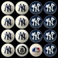 New York Yankees MLB Home vs. Away Pool Ball Set