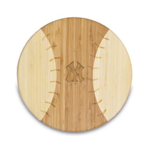 New York Yankees Homerun Cutting Board
