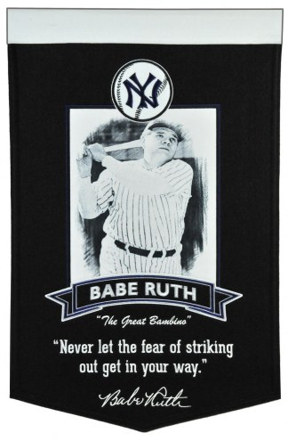 New York Yankees Babe Ruth Icon Collection Banner