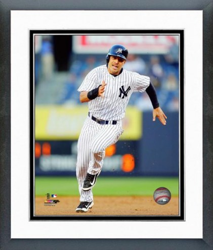 New York Yankees Jacoby Ellsbury Action Framed Photo