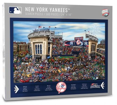New York Yankees Joe Journeyman Puzzle