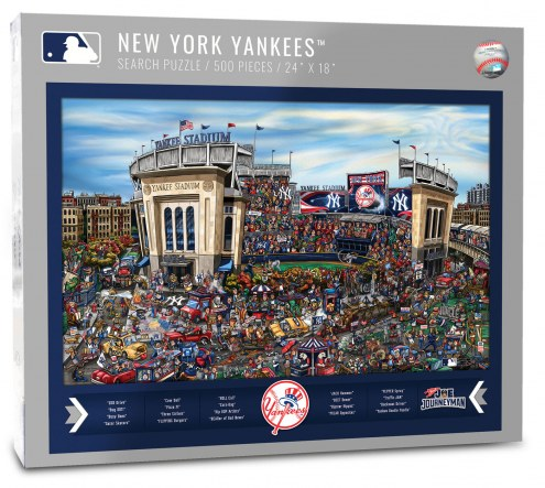 New York Yankees Joe Journeyman Puzzle