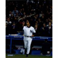 """New York Yankees Joe Torre Cap Tip (Signed In Silver) Signed 16"""" x 20"""" Photo"""