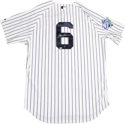 New York Yankees Joe Torre Signed Authentic Pinstripe Jersey w/ 1998 Patch