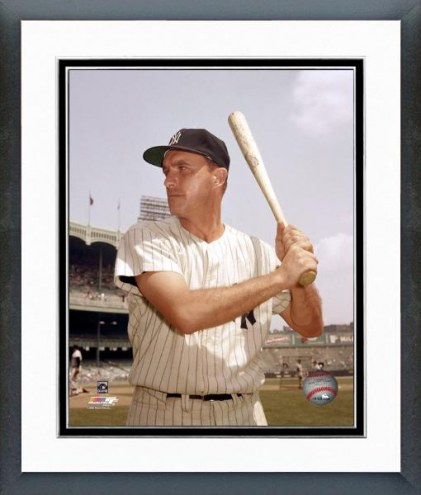 New York Yankees Johnny Blanchard Batting pose Framed Photo