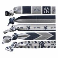 New York Yankees Knotted Hair Tie