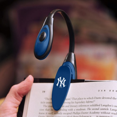 New York Yankees LED Book Reading Lamp