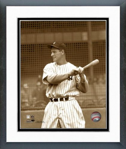 New York Yankees Lou Gehrig Framed Photo