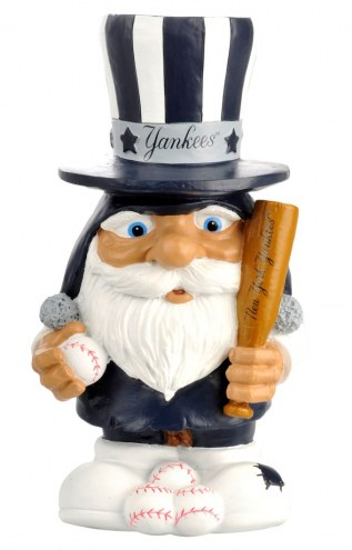 New York Yankees Mad Hatter Garden Gnome