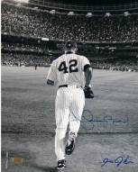 New York Yankees Mariano Rivera 2006 Entering The Game B&W 8 x 10 Photo (Signed By Anthony Causi)