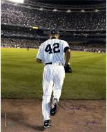 New York Yankees Mariano Rivera 2006 Entering The Game Color Signed 16 x 20 Photo (Signed By Anthony Causi)