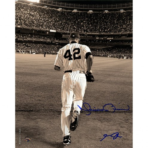 New York Yankees Mariano Rivera 2006 Entering The Game Sepia 8 x 10 Photo (Signed By Anthony Causi)