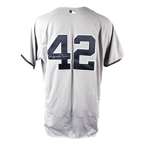 New York Yankees Mariano Rivera Signed Authentic Flex Base Away Jersey
