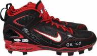 New York Yankees Mark Teixeira Signed 2014 Game Used Black & Red Cleat Pair w/ GU 08