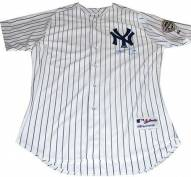 New York Yankees Mark Teixeira Signed Authentic Home Jersey w/ Inaugural Season Patch