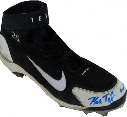 New York Yankees Mark Teixeira Signed Game Used Cleat