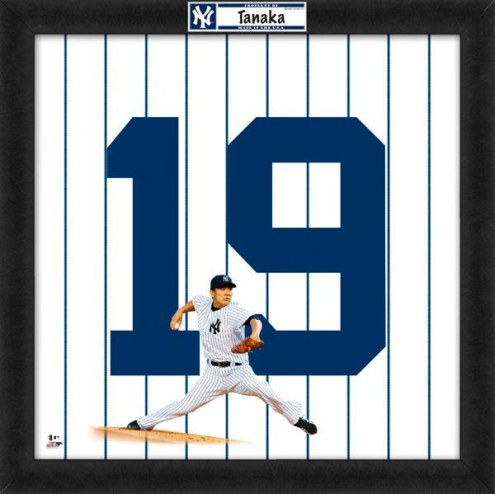 New York Yankees Masahiro Tanaka Uniframe Framed Jersey Photo