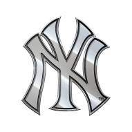 New York Yankees Metal Car Emblem