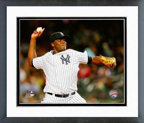 New York Yankees Michael Pineda Action Framed Photo