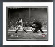 New York Yankees Mickey Mantle 1951 Batting Action Framed Photo