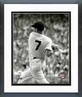 New York Yankees Mickey Mantle 1961 Action Framed Photo