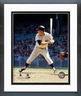 New York Yankees Mickey Mantle 1965 Action Framed Photo