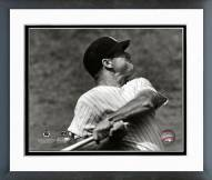 New York Yankees Mickey Mantle Batting Action Framed Photo