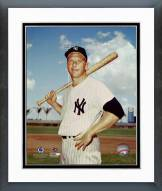 New York Yankees Mickey Mantle Posed Framed Photo
