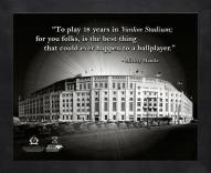 New York Yankees Mickey Mantle Framed Pro Quote