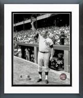 New York Yankees Mickey Mantle Tipping Hat Framed Photo