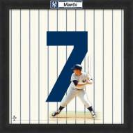 New York Yankees Mickey Mantle Uniframe Framed Jersey Photo