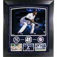New York Yankees Miguel Andujar Elite Framed and Signed 16 x 20 Photo Collage