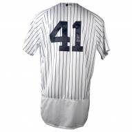 New York Yankees Miguel Andujar Signed Authentic Flex Base Pinstripe Jersey