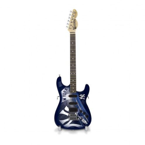 New York Yankees Mini Replica Guitar
