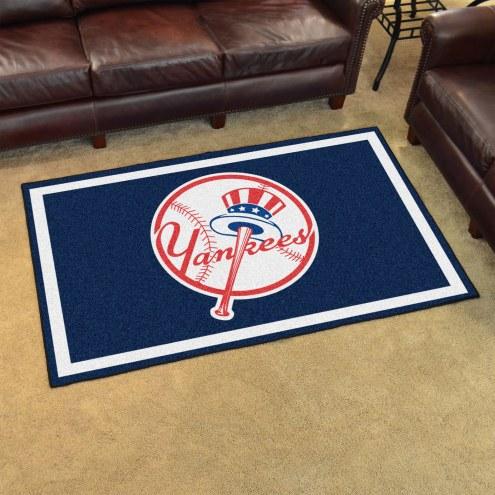 New York Yankees MLB 4' x 6' Area Rug