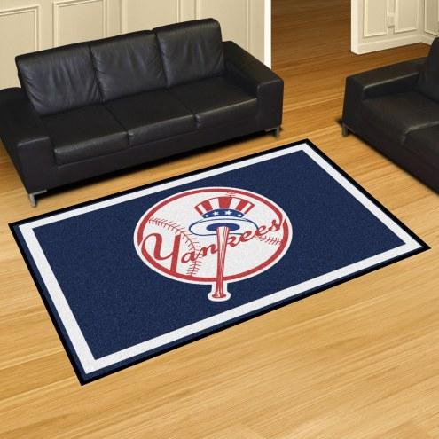 New York Yankees MLB 5' x 8' Area Rug